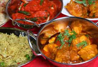 Eat out in Fife - Indian Food