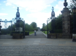 Entrance Pittencrieff Park