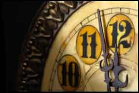 Hogmany customs - countdown to midnight