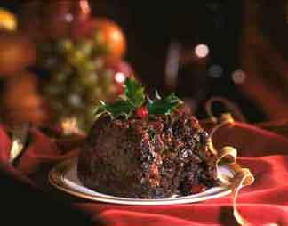 Quick Microwave Christmas Pudding