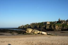 St Andrews Beach towards Town