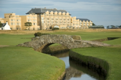 St Andrews bridge on Old Course