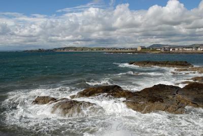 The Sea of the coast of FIFE