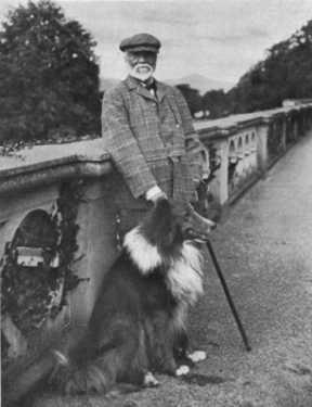 Andrew Carnegie at Skibo Castle
