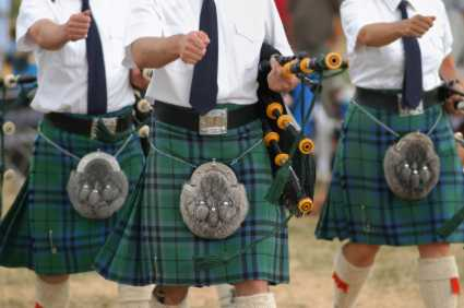 Music events - marching pipers